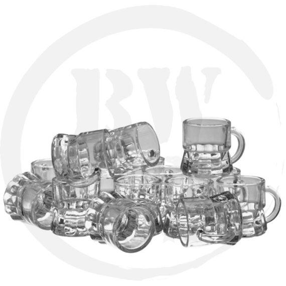 12x Shotje Bierpul - Shotglazen - Bierwinst Horeca Glaswerk