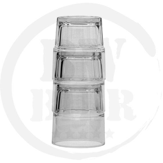 12x Spatje (Next) 20cl. Frisdrankglas - Stapelbaar - Bierwinst Horeca Glaswerk