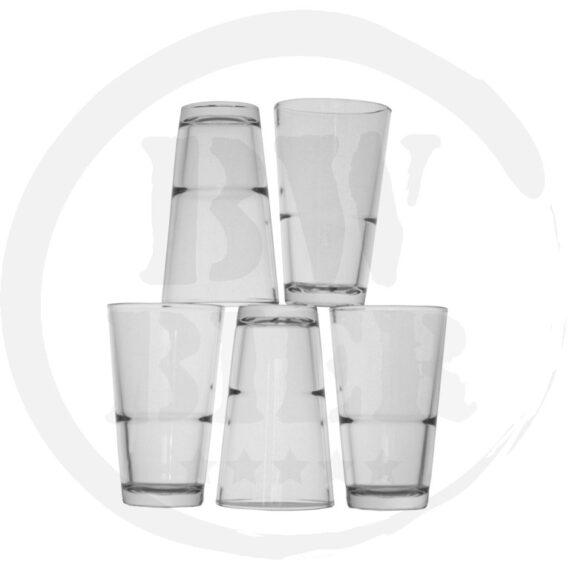 12x Vaas 20 cl - Vaasjes - Bierwinst Horeca Glaswerk