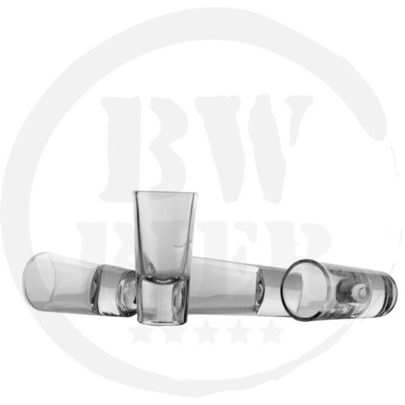 25x Shotje Club Shot Glas - BW Bodem - Bierwinst Horeca Glaswerk