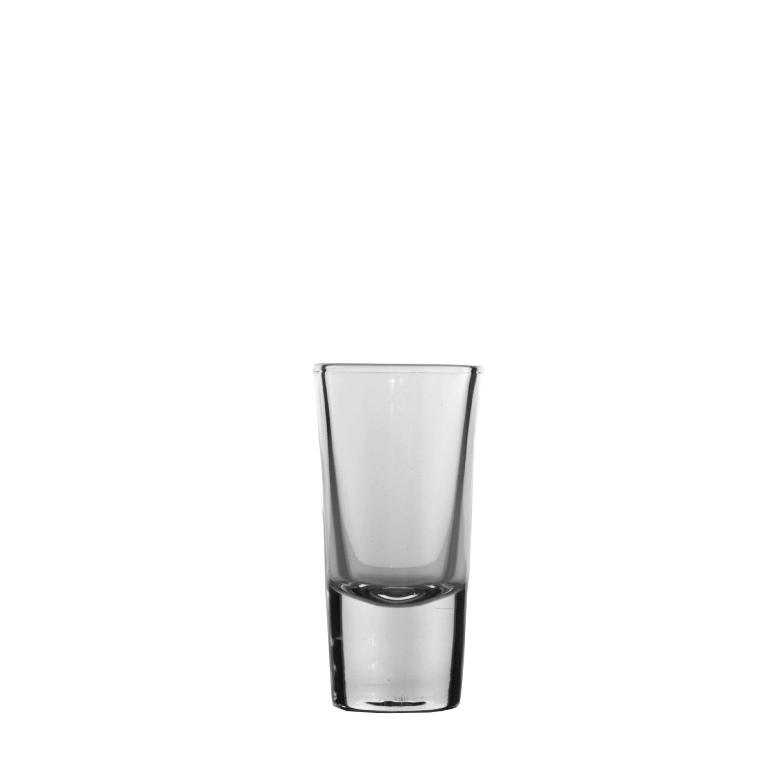 25x Shotje Club Shot Glas - Bierwinst Horeca Glaswerk