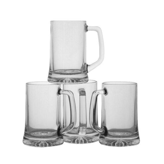 6x Bierpul 20cl. - Bierkannen - Bierwinst Horeca Glaswerk