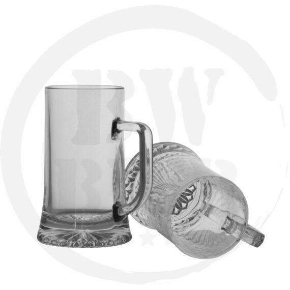 6x Bierpul 40cl. - Liggend - Bierwinst Horeca Glaswerk