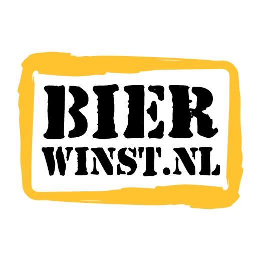 Logo 1 kleur - 12x Vaasje - Bierwinst Horeca Vaasjes Bedrukken Bestellen