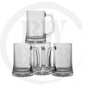 Bierglazen bestellen - 6x Bierpul 20cl. - Bierkannen - Bierwinst Horeca Glaswerk