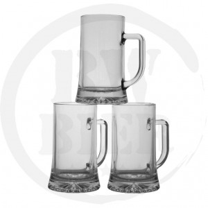 Bierglazen bestellen - 6x Bierpul 40cl. - Bierkannen - Bierwinst Horeca Glaswerk